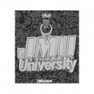 "James Madison Dukes ""JMU University"" Pendant - Sterling Silver Jewelry"