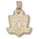 "Los Angeles Kings 5/8"" ""Shield Logo"" Pendant - 10KT Gold Jewelry"