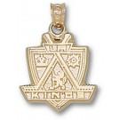 """Los Angeles Kings """"Kings Logo"""" 5/8"""" Pendant - 14KT Gold Jewelry"""