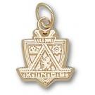 "Los Angeles Kings ""Kings Logo"" 1/2"" Charm - 14KT Gold Jewelry"