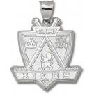 "Los Angeles Kings Giant 1 5/8"" W x 1 5/8"" H ""Kings Logo"" Pendant - Sterling Silver Jewelry"