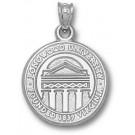 "Longwood Lancers 5/8"" ""Seal"" Pendant - Sterling Silver Jewelry"
