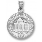 "Medical College of Georgia ""Building"" Pendant - Sterling Silver Jewelry"