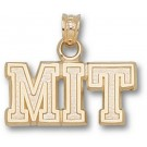 """Massachusetts Institute of Technology Engineers """"MIT"""" Pendant - 14KT Gold Jewelry"""