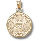 """Massachusetts Institute of Technology Engineers """"Seal"""" Pendant - 14KT Gold Jewelry"""