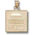 "Massachusetts Institute of Technology ""Sloan"" Logo 5/8"" Lapel Pin - Sterling Silver Jewelry"