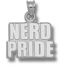 """Massachusetts Institute of Technology Engineers """"Nerd Pride"""" Pendant - Sterling Silver Jewelry"""