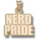 "Massachusetts Institute of Technology Engineers ""Nerd Pride"" Pendant - 10KT Gold Jewelry"