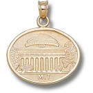 """Massachusetts Institute of Technology Engineers """"MIT Great Dome"""" Pendant - 14KT Gold Jewelry"""