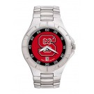 North Carolina State Wolfpack NCAA Men's Pro II Watch with Stainless Steel Bracelet