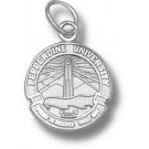 "Pepperdine Waves ""Seal"" 1/2"" Charm - Sterling Silver Jewelry"