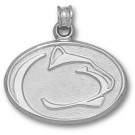 "Penn State Nittany Lions ""Lion Head"" Pendant - Sterling Silver Jewelry"