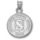 "Southeastern Louisiana Lions ""Seal"" Pendant - Sterling Silver Jewelry"