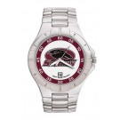 Southern Illinois Salukis NCAA Men's Pro II Watch with Stainless Steel Bracelet