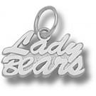 "Missouri State University Bears ""Lady Bears"" Charm - Sterling Silver Jewelry"
