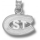 """St. Cloud State Huskies """"C with ST"""" Pendant - Sterling Silver Jewelry"""