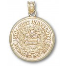 "Syracuse Orangemen ""Official Seal"" Pendant - 14KT Gold Jewelry"