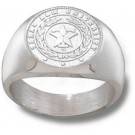 "Texas A &M Aggies ""Seal"" Men's Ring Size 10 1/2 - Sterling Silver Jewelry"
