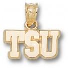"Tarleton State Texans ""TSU"" 1/4"" Pendant - 10KT Gold Jewelry"