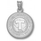 "Tarleton State Texans ""Seal"" Pendant - Sterling Silver Jewelry"