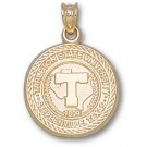 "Tarleton State Texans ""Seal"" Pendant - 14KT Gold Jewelry"