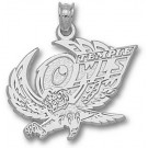 """Temple Owls """"Temple Owl"""" Pendant - Sterling Silver Jewelry"""