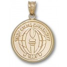 "Troy State Trojans ""Seal"" Pendant - 14KT Gold Jewelry"