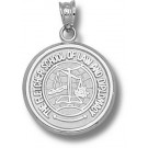 "Tufts Jumbos ""Fletcher Law School"" Pendant - Sterling Silver Jewelry"