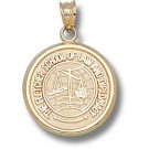 "Tufts Jumbos ""Fletcher Law School"" Pendant - 14KT Gold Jewelry"