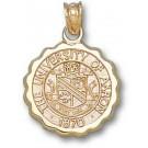 "Akron Zips ""Seal"" Pendant - 10KT Gold Jewelry"