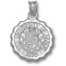 """Akron Zips """"Seal"""" Pendant - Sterling Silver Jewelry"""