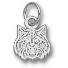 "Arizona Wildcats ""Wildcat Face"" 5/16"" Charm - Sterling Silver Jewelry"