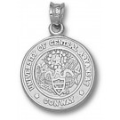"""Central Arkansas Bears """"Seal"""" Pendant - Sterling Silver Jewelry"""