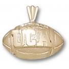 "Central Arkansas Bears ""UCA Football"" Pendant - 14KT Gold Jewelry"