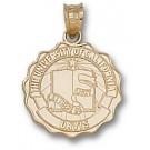 "California (Davis) Aggies ""Seal"" Pendant - 14KT Gold Jewelry"