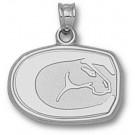 "California (Davis) Aggies ""Horse Head"" 1/2"" Pendant - Sterling Silver Jewelry"