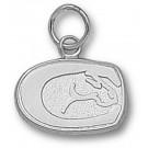 "California (Davis) Aggies ""Horse Head"" 3/8"" Charm - Sterling Silver Jewelry"