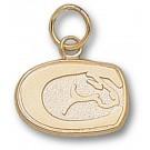 "California (Davis) Aggies ""Horse Head"" 3/8"" Charm - 10KT Gold Jewelry"