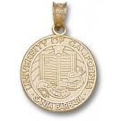 "California (Santa Barbara) Gauchos ""Seal"" Pendant - 14KT Gold Jewelry"