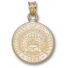 "Evansville Purple Aces ""Seal"" Pendant - 10KT Gold Jewelry"