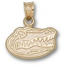 "Florida Gators ""Gator Head"" 3/8"" Pendant - 14KT Gold Jewelry"