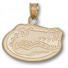 "Florida Gators 1/2"" ""Gator Head"" Pendant - 10KT Gold Jewelry"