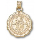 "Kentucky Wildcats ""Seal"" Pendant - 10KT Gold Jewelry"