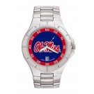 Mississippi (Ole Miss) Rebels NCAA Men's Pro II Watch with Stainless Steel Bracelet