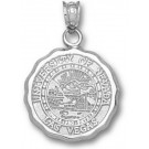 "Las Vegas (UNLV) Runnin' Rebels ""Seal"" Pendant - Sterling Silver Jewelry"
