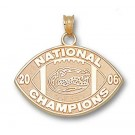 "Florida Gators 2006 Bowl Championship Series 1/2"" Logo Pendant - Gold Plated Jewelry by"