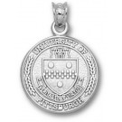 """Pittsburgh Panthers """"Seal"""" Pendant - Sterling Silver Jewelry"""