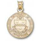 """Pittsburgh Panthers """"Seal"""" Pendant - 14KT Gold Jewelry"""