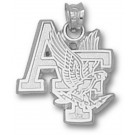 "Air Force Academy Falcons ""AF with Falcon"" Pendant - Sterling Silver Jewelry"