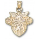 """Army Black Knights """"Seal"""" Pendant - 14KT Gold Jewelry"""